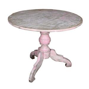 Boho Ibiza Ronde roze tafel
